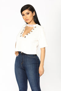 Cordelia Top - White