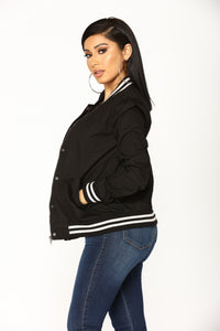 After School Jacket - Black