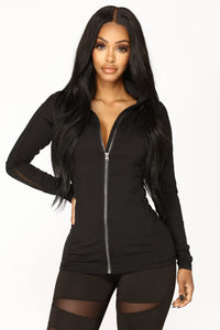Night Jog Active Jacket - Black