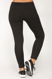 Your Go To Active Leggings - Black