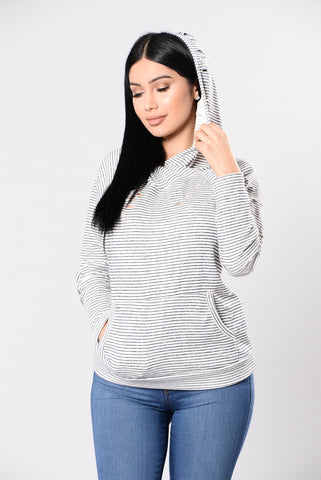 Buzz Worthy Sweater - Navy