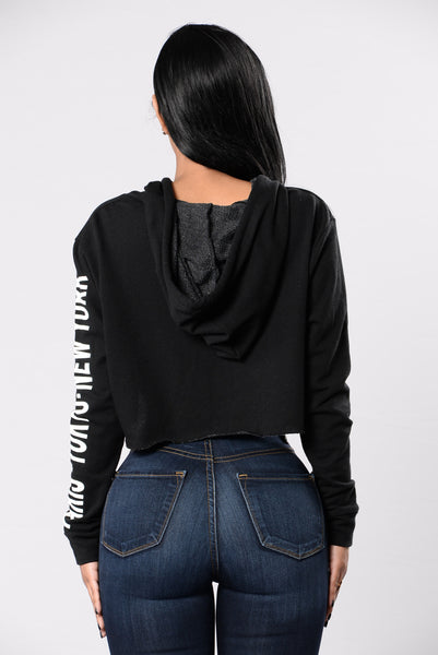 Take Me There Top - Black