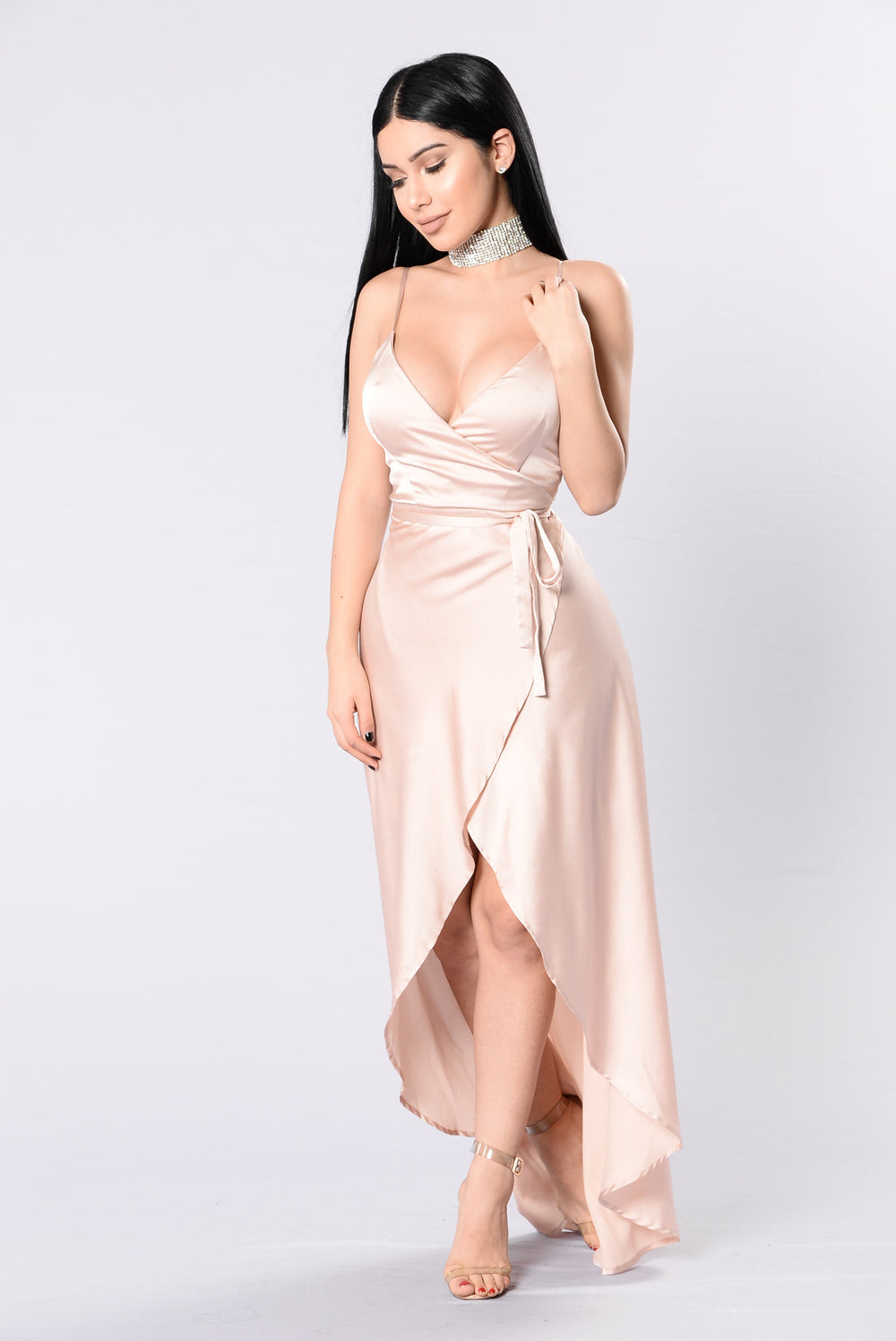 Fantasy Queen Dress - Champagne