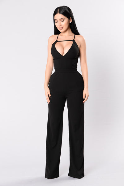 Well Dressed Jumpsuit - Black