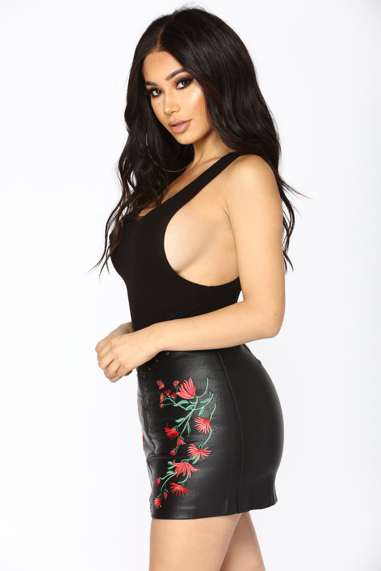 Adore You Bodysuit - Black