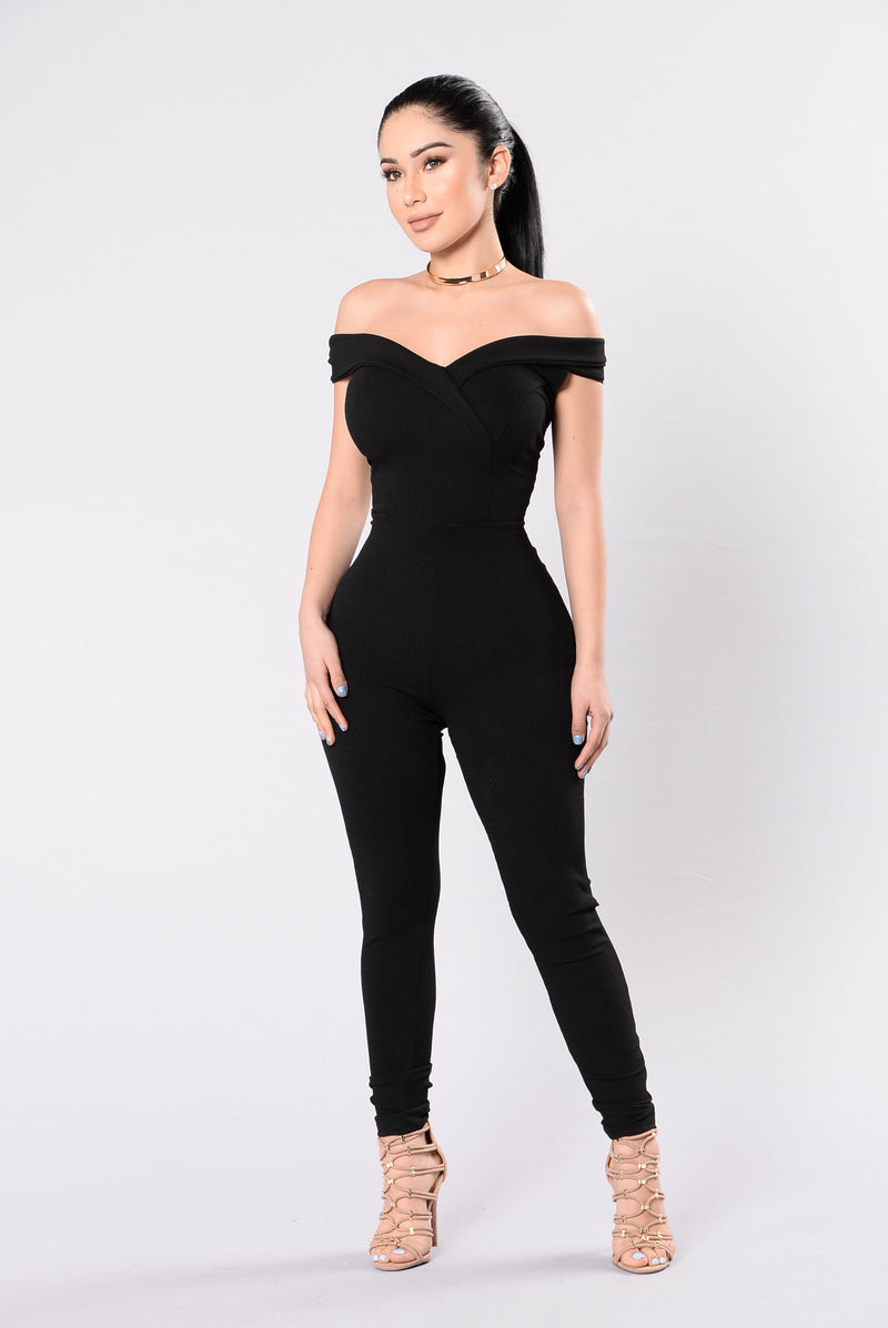 City Of Lights Jumpsuit - Black
