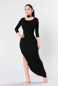 Think About Me Dress - Black