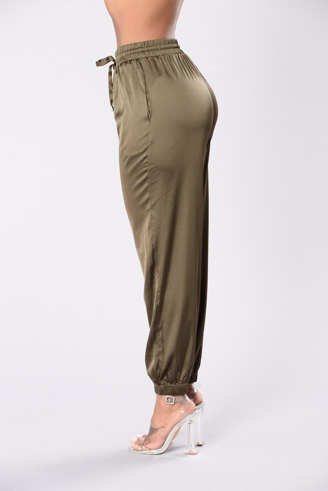 1d4a475d868536 The Girl In Your Dreams Pants - Olive