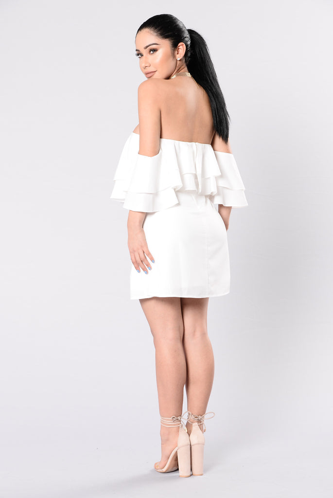 Killer Queen Dress - White
