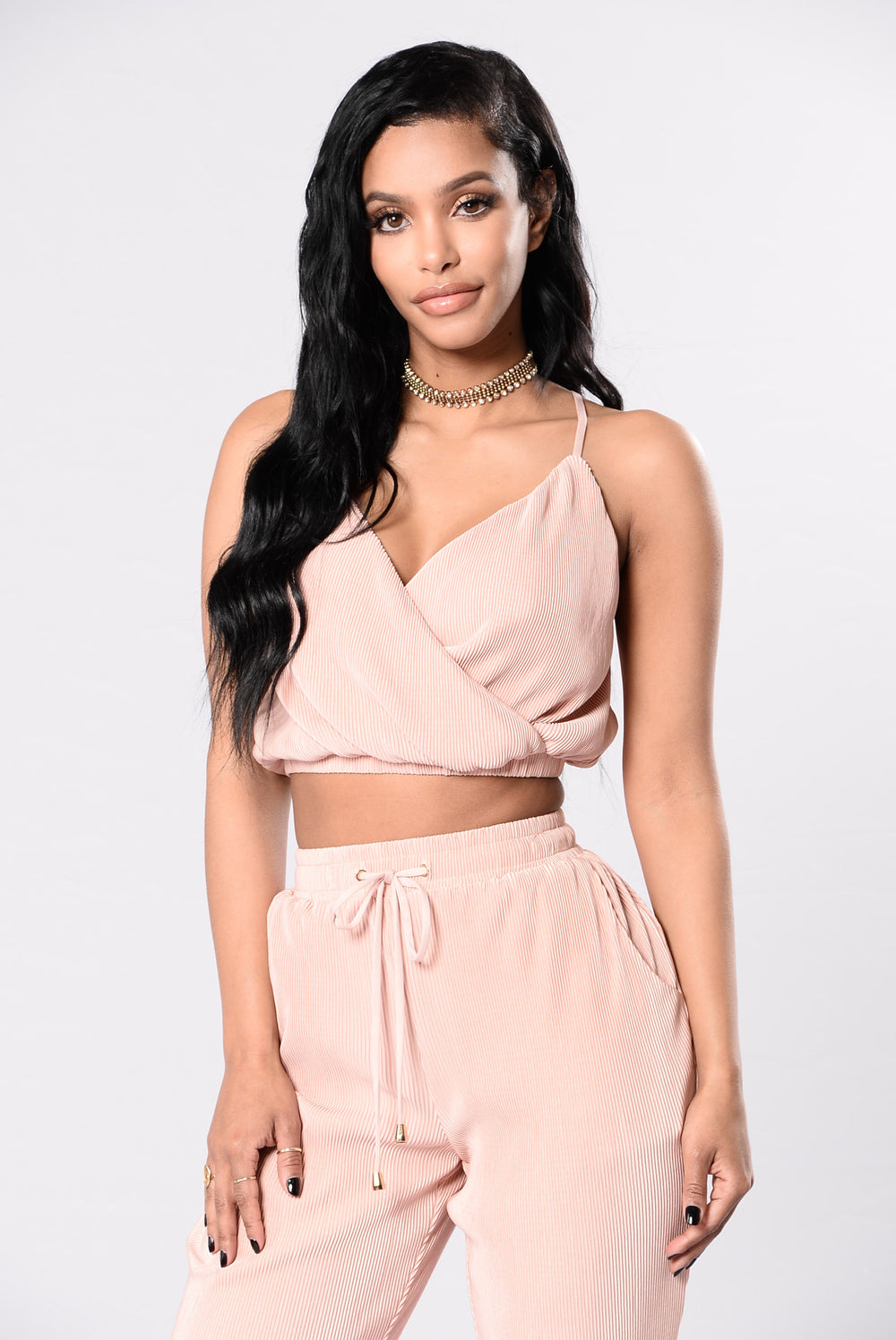 Late Nights Top - Blush