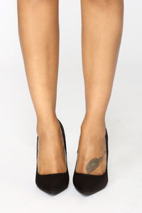 Spiral To Heaven Heels - Black