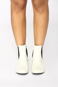 Raindance Rubber Boots - Off White