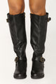 Mount Wilson Knee High Boot - Black