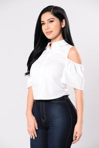 Penthouse Party Top - White