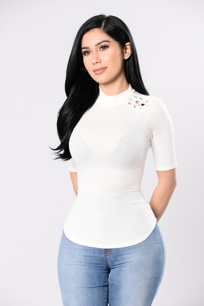 Girls Night In Top - Ivory