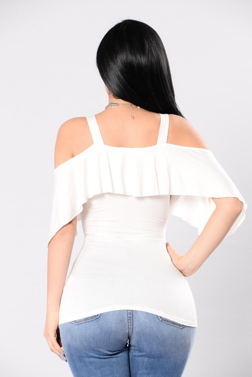 Sexy Casualty Top - Ivory