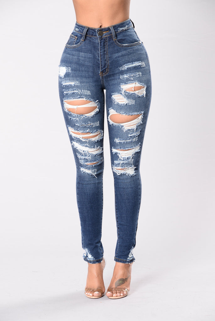 Don't Walk Away Jeans - Medium