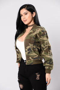 Camouflage In The City Jacket - Camo Angle 4