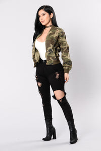 Camouflage In The City Jacket - Camo Angle 8