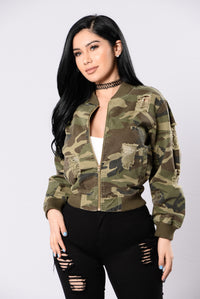 Camouflage In The City Jacket - Camo Angle 1