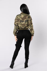 Camouflage In The City Jacket - Camo Angle 7