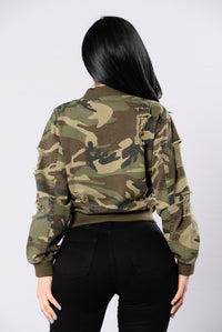 Camouflage In The City Jacket - Camo Angle 3