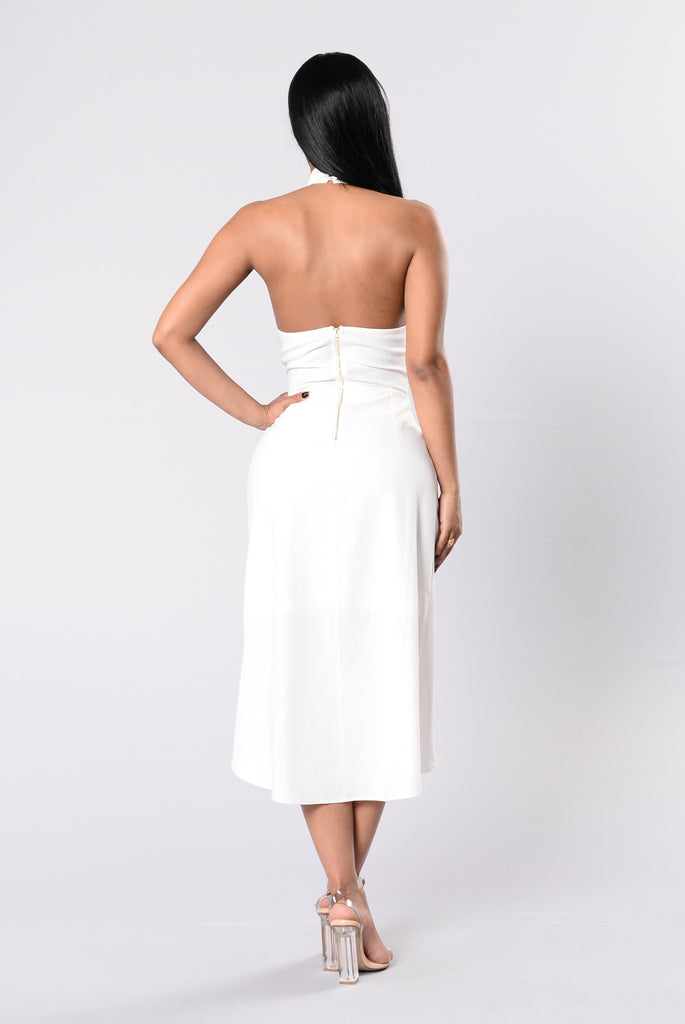 Knot Your Girl Dress - White