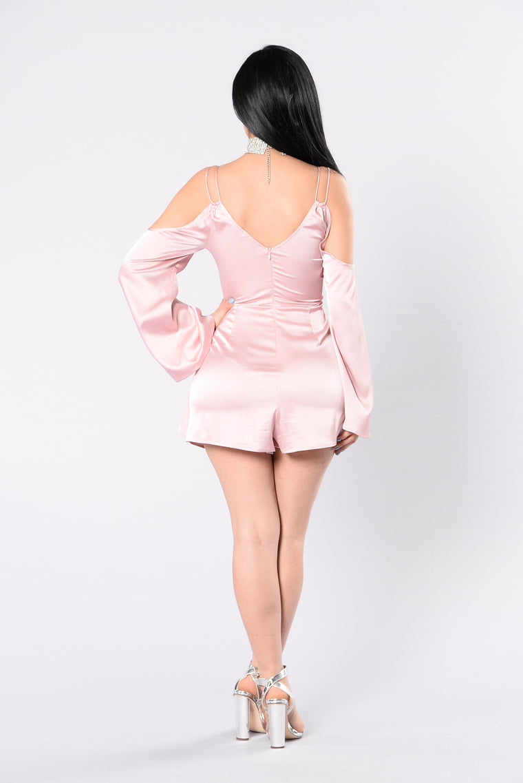 Beating Heart Romper - Yogurt Pink