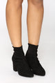 Walk It Out Bootie - Black