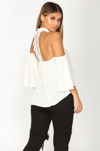 All Summer Long Top - Off White