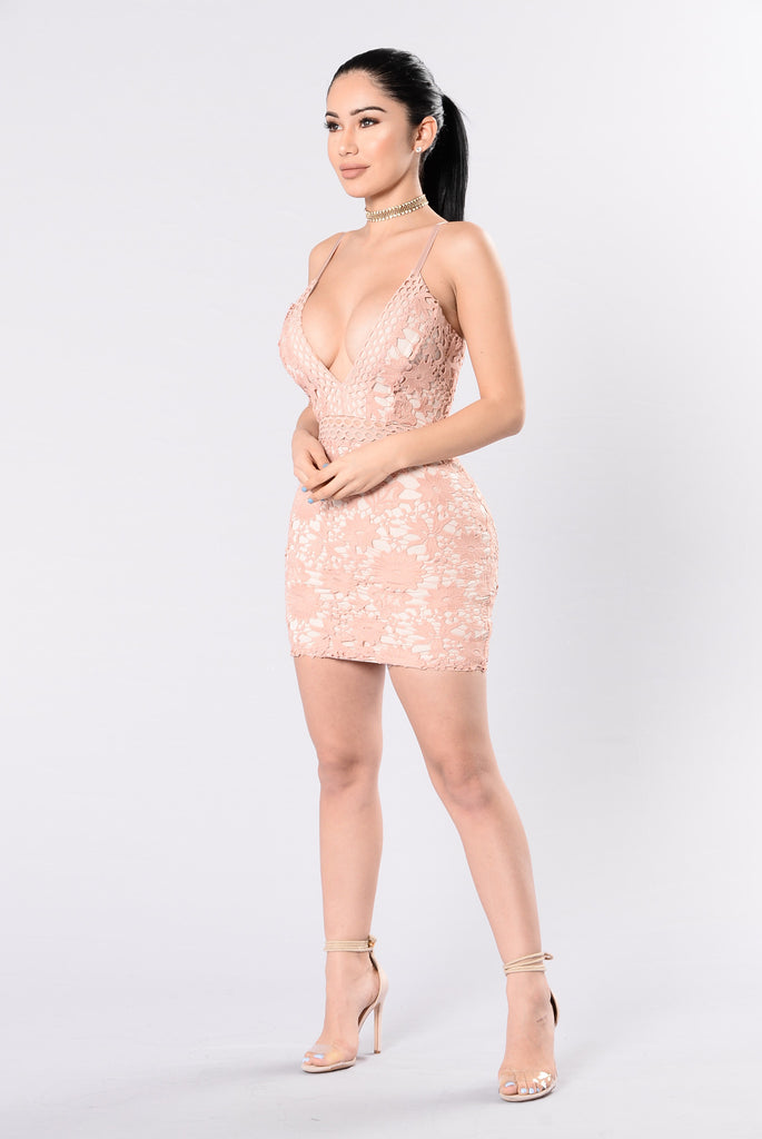 Promiscuous Dress - Soft Blush