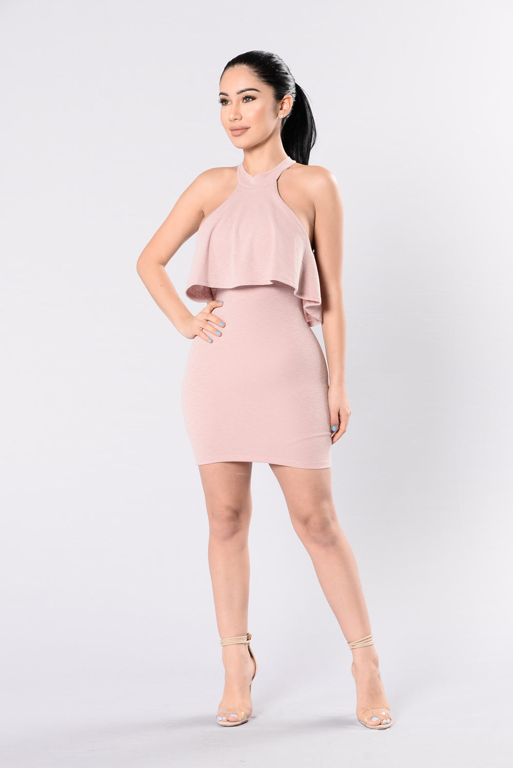 Lady Marmalade Dress - Mauve