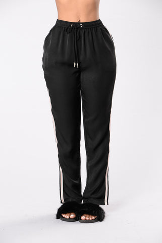 Let's Runaway Pants - Black