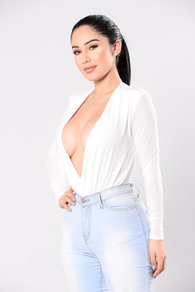 Work For It Bodysuit - Ivory
