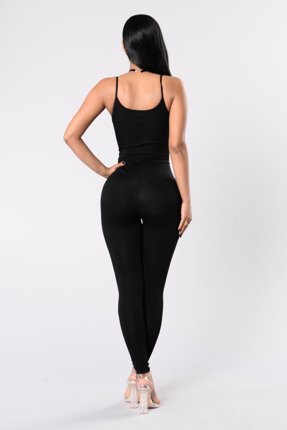 Hard To Articulate Jumpsuit - Black