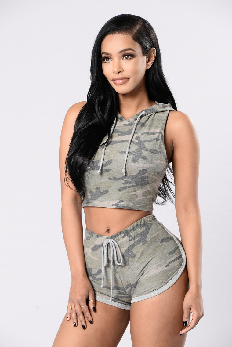 Worth It Top - Camo