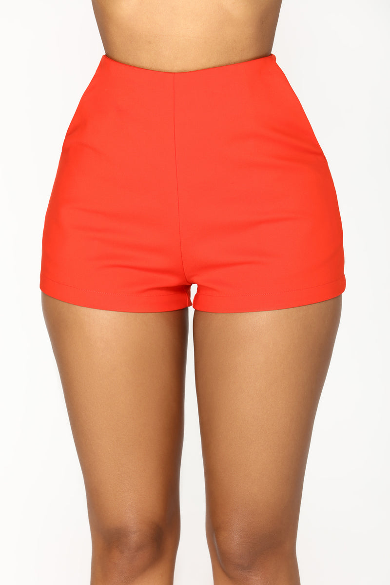 You Got It Shorts - Red