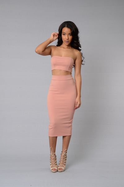 Other Half Skirt - Mauve