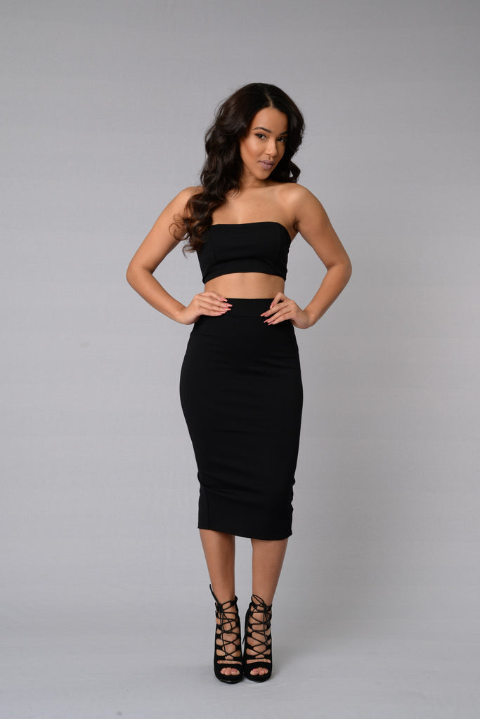 Other Half Skirt - Black