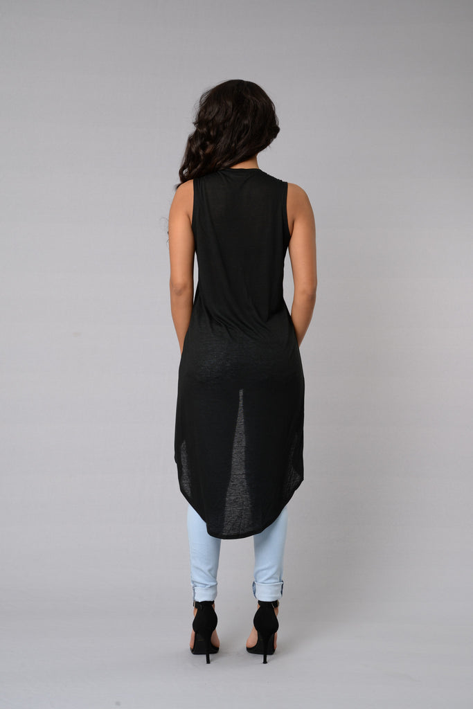 Over the Hill Top - Black