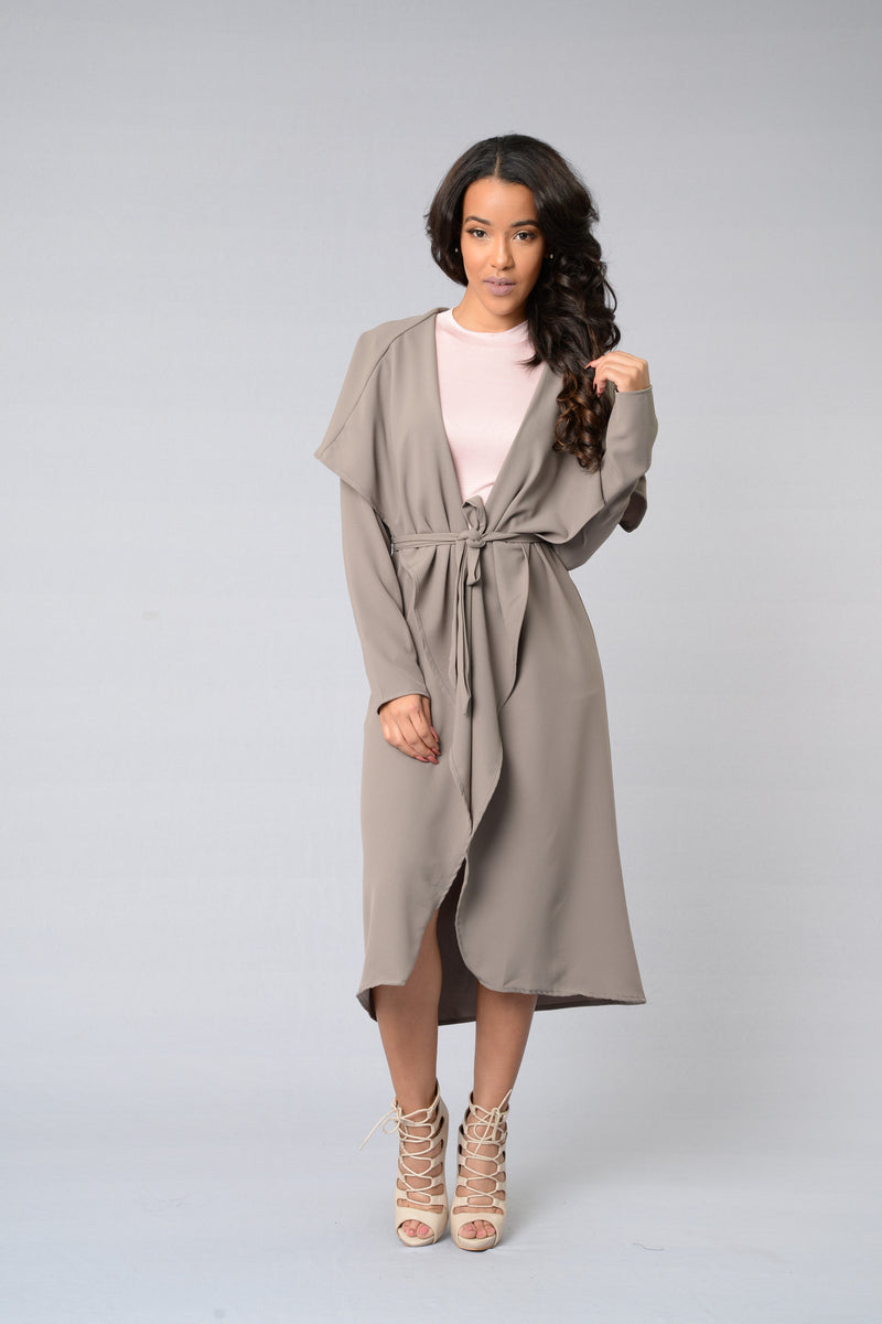 Business Casual Coat - Mocha
