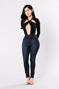 Another Eternity Bodysuit - Black
