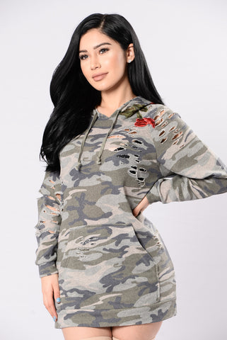Word On Road Tunic - Army