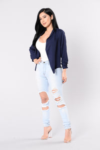 Matrimony Jacket - Navy