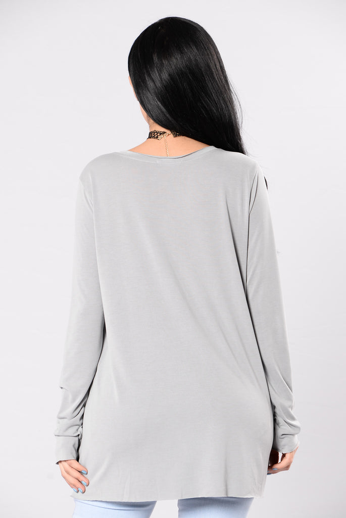 In The Shadows Tee - Light Grey