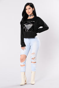 Change Of Heart Top - Black