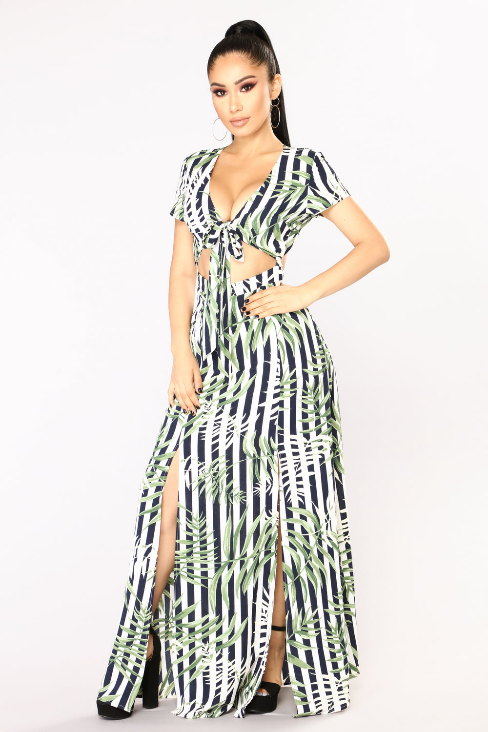La La Land Maxi Dress - Navy