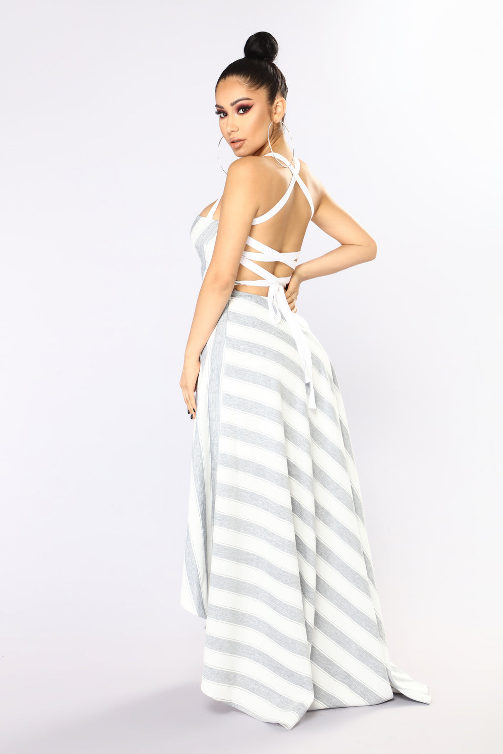 Really Don't Care Maxi Dress - Blue