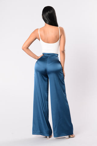 Not Just Any Lover Pants - Dark Teal