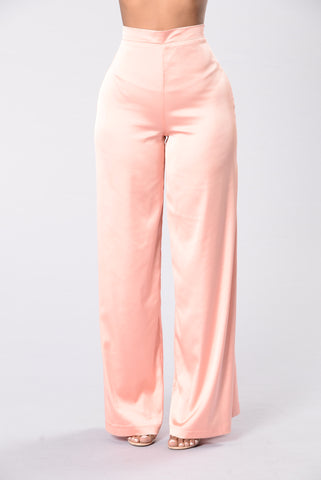 Not Just Any Lover Pants - Peach